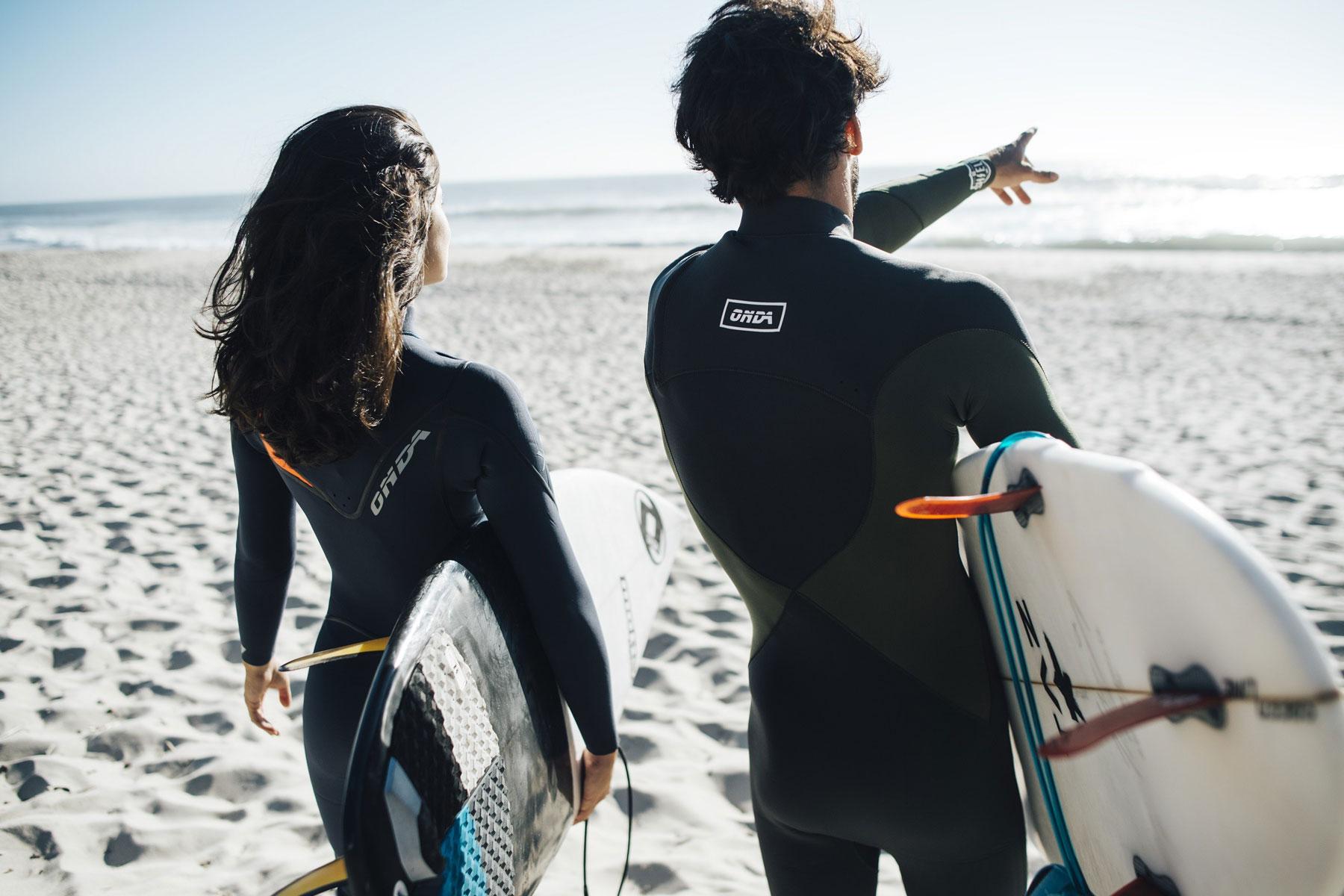 Découvrez les combinaisons de surf Onda Wetsuits