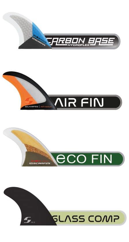 derives surf scarfini fins