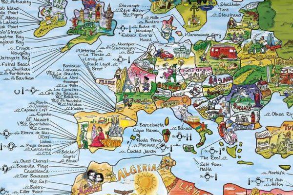 surf map