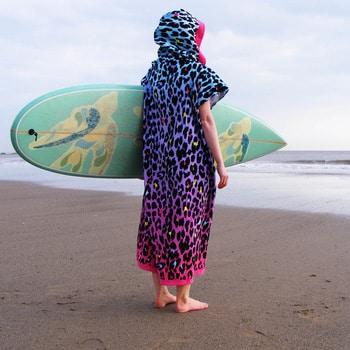 poncho surf couleur