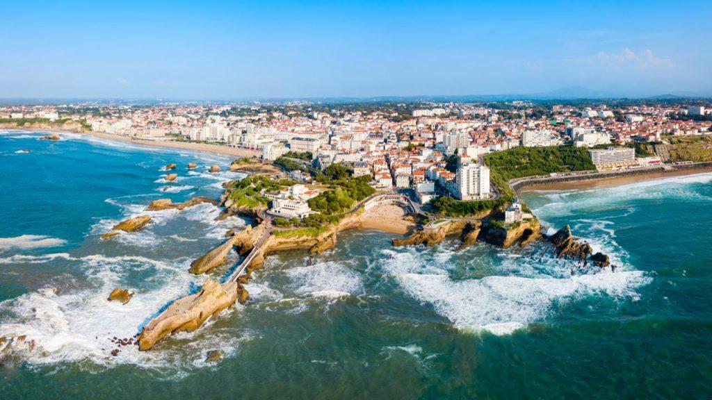 Biarritz webcam