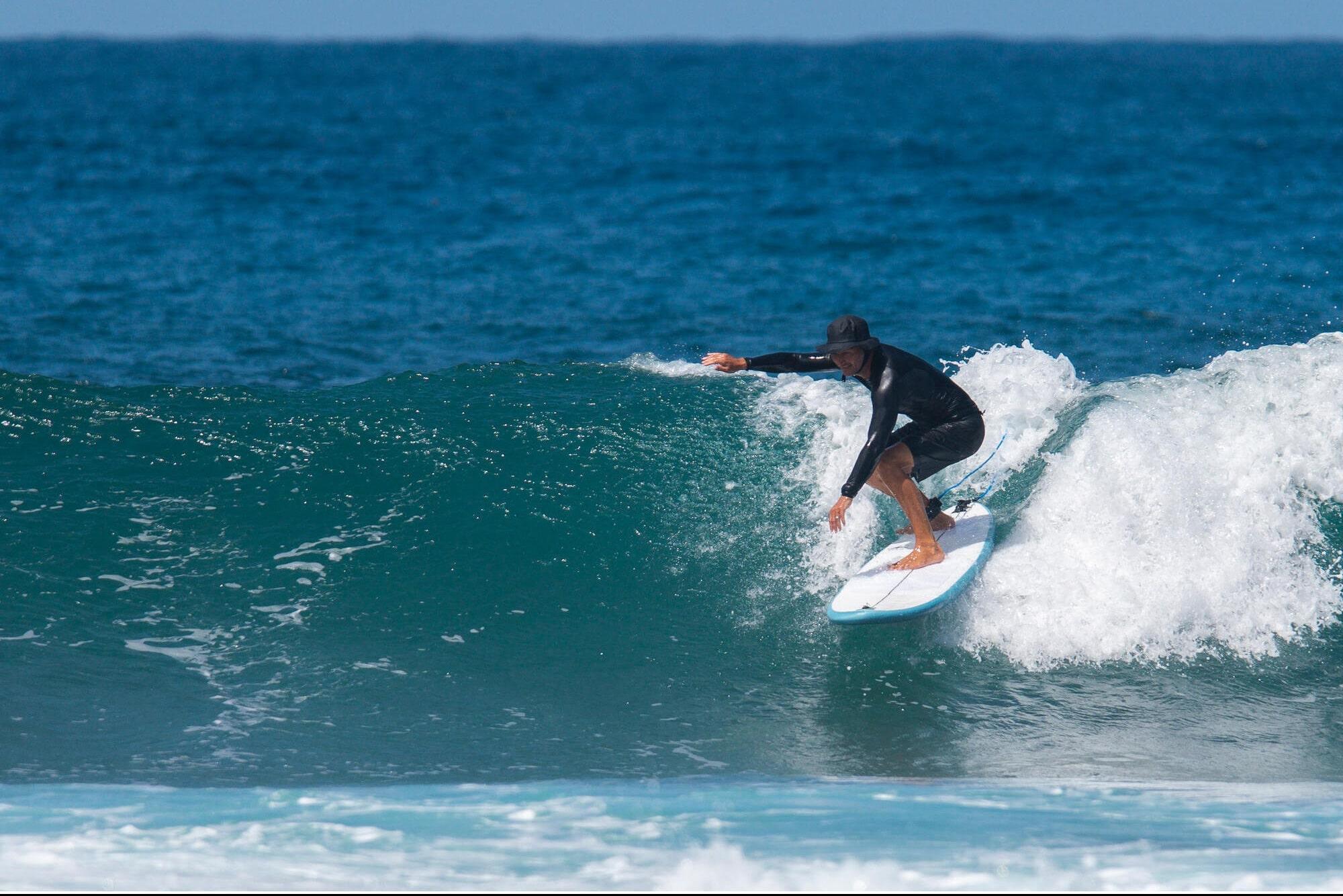 Les surfs gonflables
